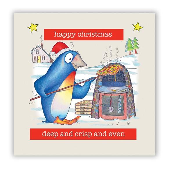 Deep Pan Christmas Card