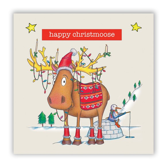 Christmoose Christmas Card