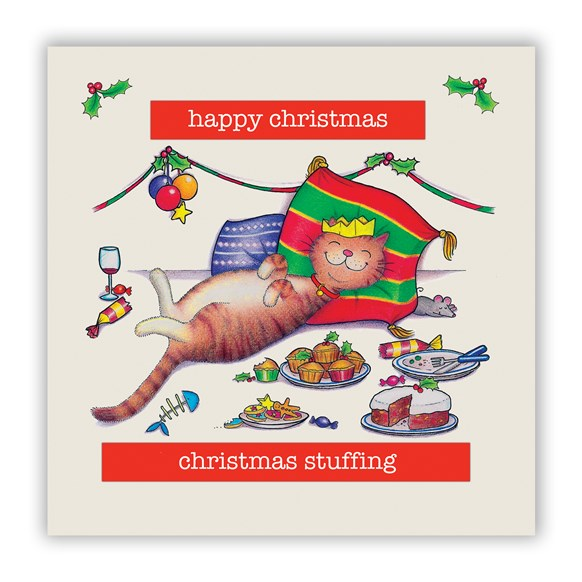 Christmas Stuffing Christmas Card