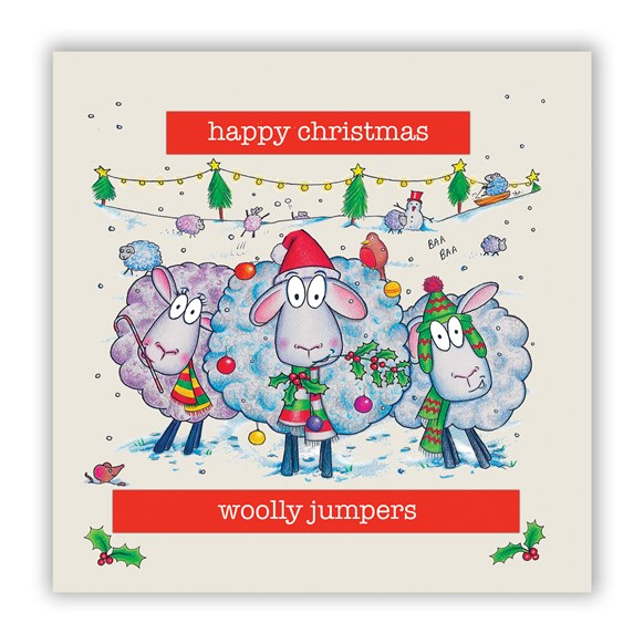 Woolly Jumpers Christmas Card