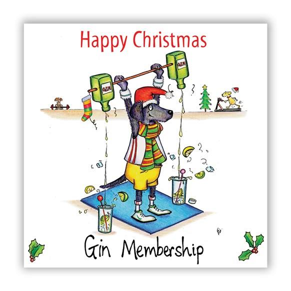 Gin Membership Christmas Card
