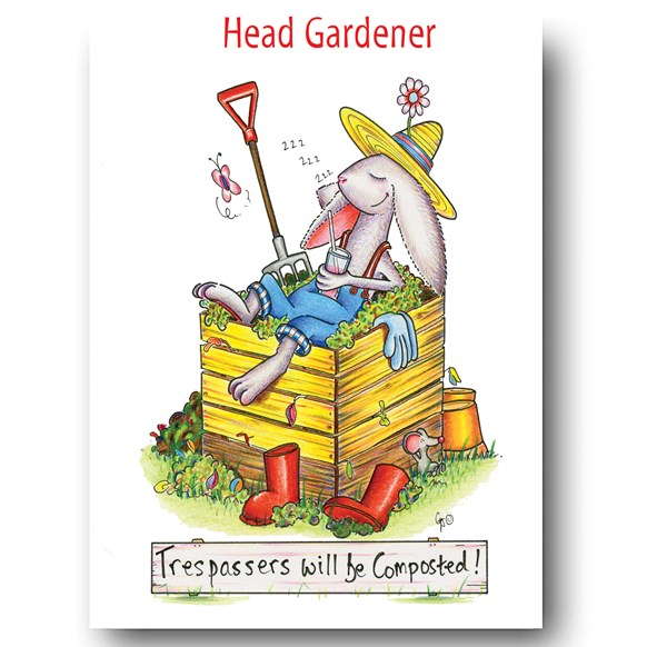 Composted Greeting Card