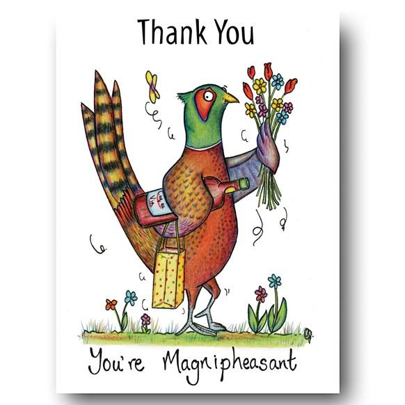 Magnipheasant Greeting Card