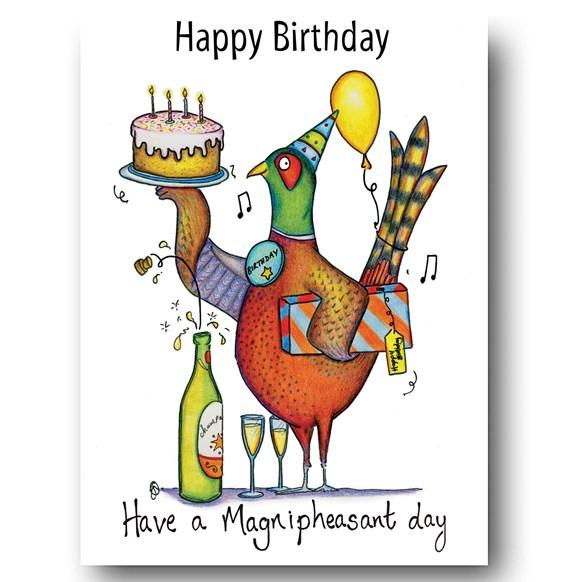 Phezzie Birthday Greeting Card