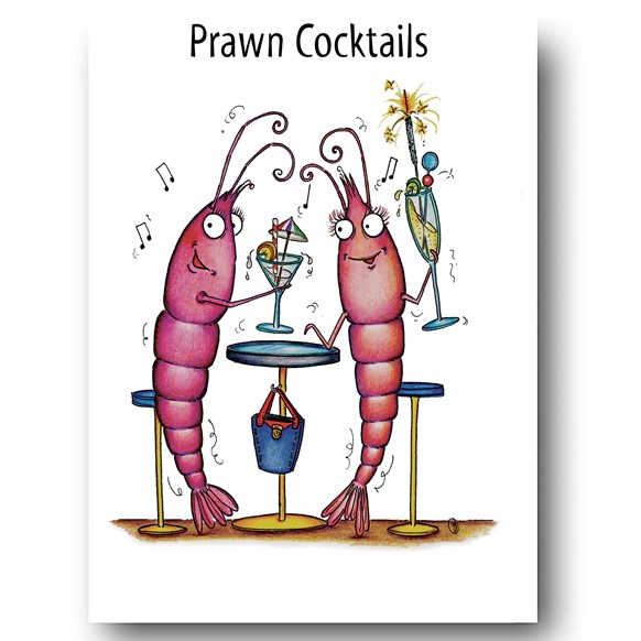 Prawn Cocktails Greeting Cards