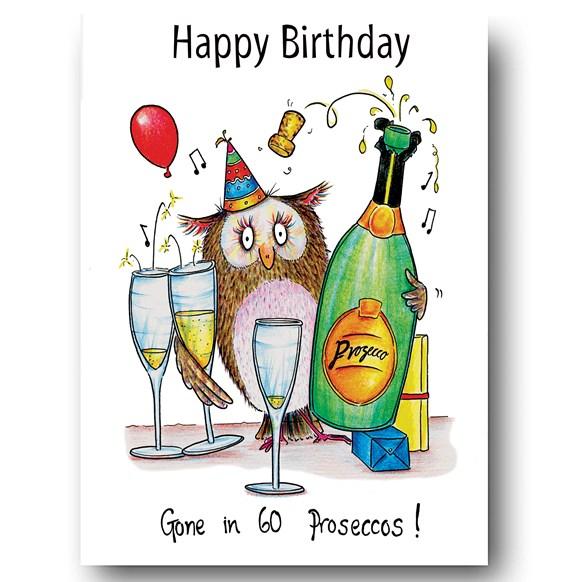 Proseccos Greeting Card