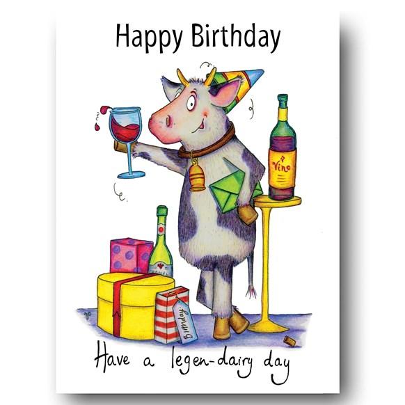 Legen-dairy Greeting Card