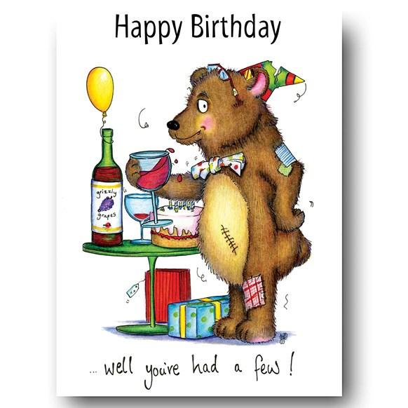 Had a Few Greeting Card