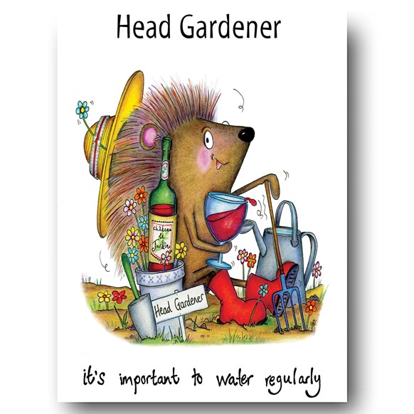 Water Regularly Greeting Card