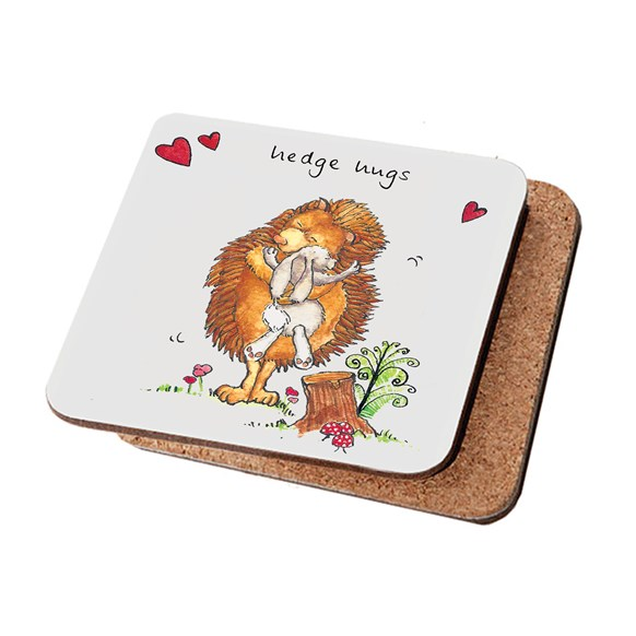 Hedge Hugs Coaster