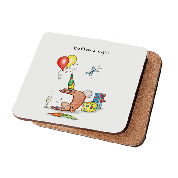 Bottoms Up Coaster