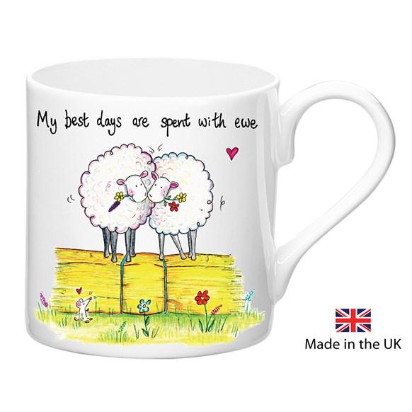 Spent with Ewe Mug