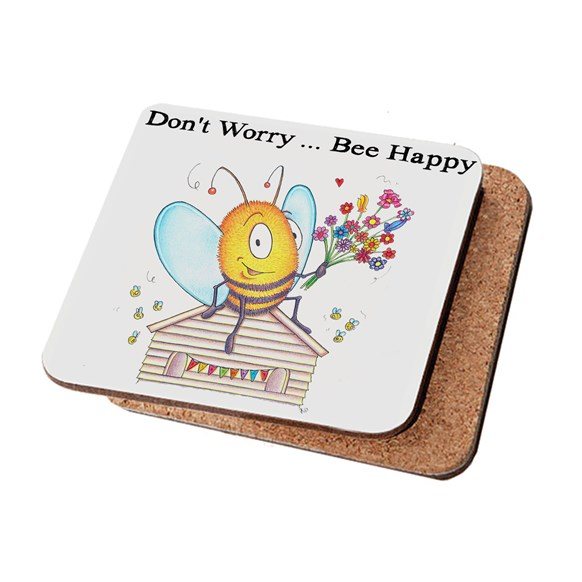 Bee Happy Coaster