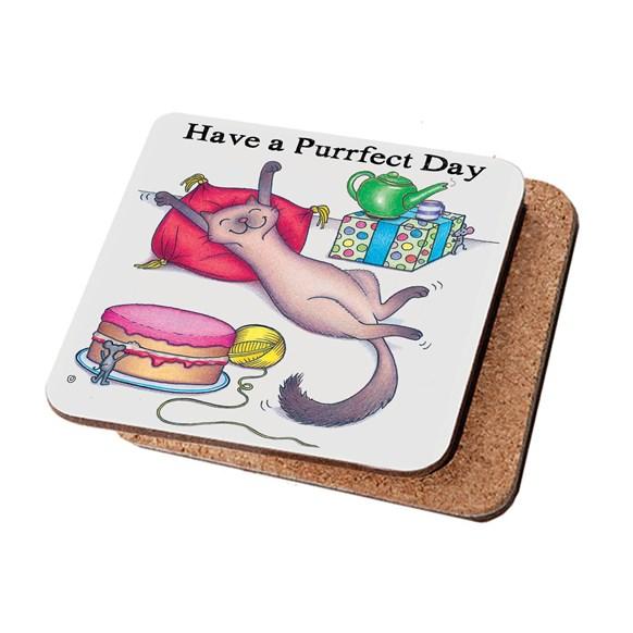 Purrfect Cat Coaster