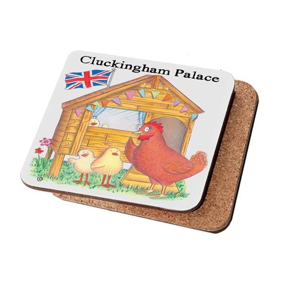 Cluckingham Palace Coaster