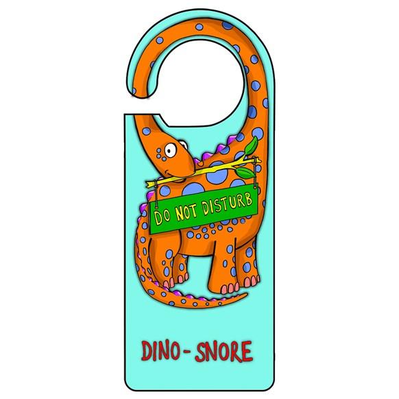 Dino Blue Door Hanger