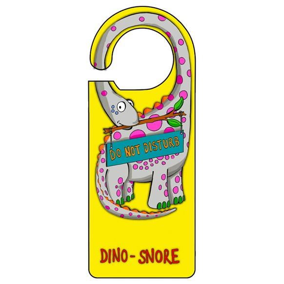 Dino Yellow Door Hanger