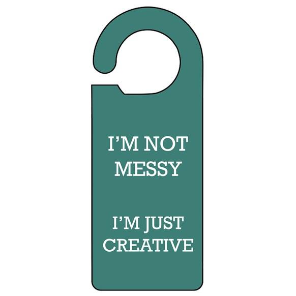 Not Messy Door Hanger