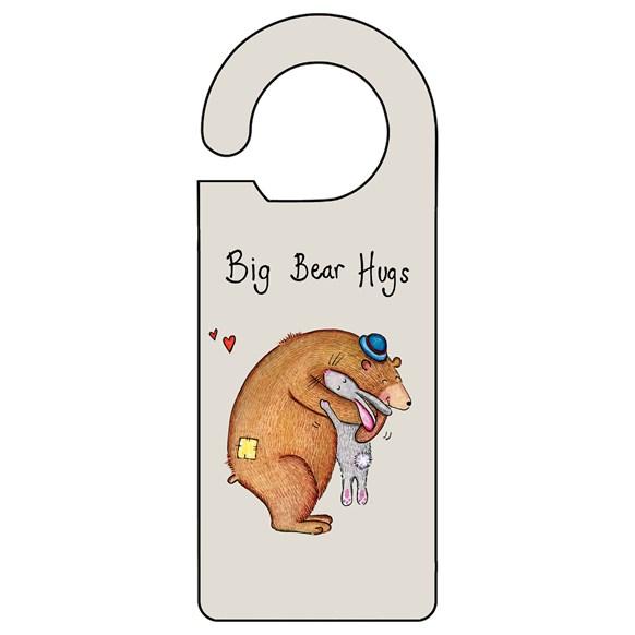Big Bear Hugs Door Hanger