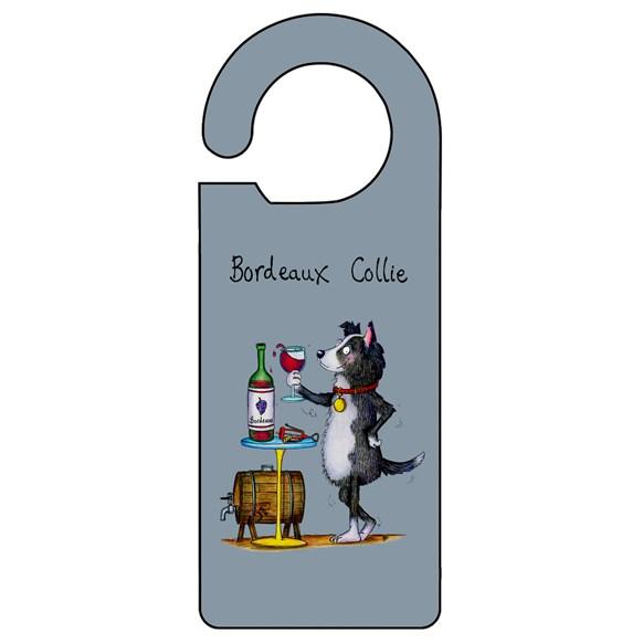 Bordeaux Collie Door Hanger