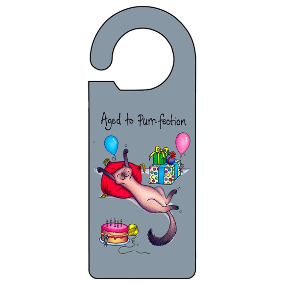 Purr-fection Door Hanger
