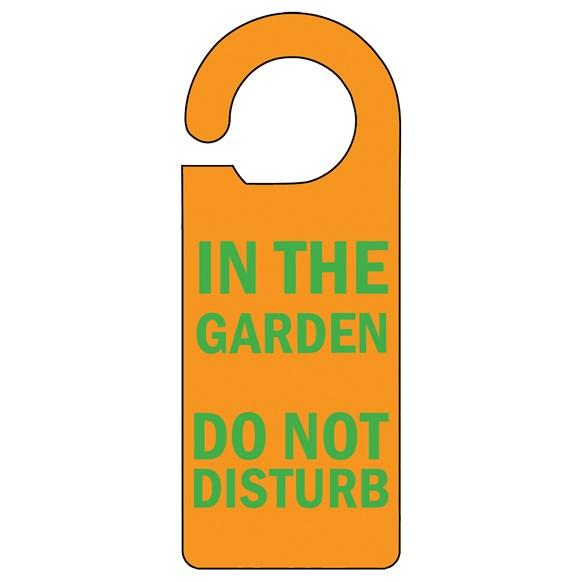 In the Garden Door Hanger