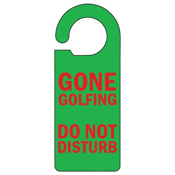 Gone Golfing Door Hanger