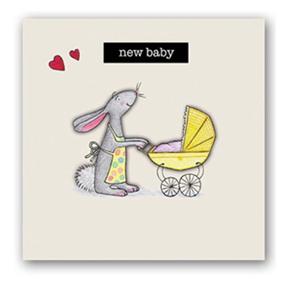 New Baby Embellishment Card