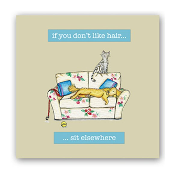 Sit Elsewhere Embellishment Card
