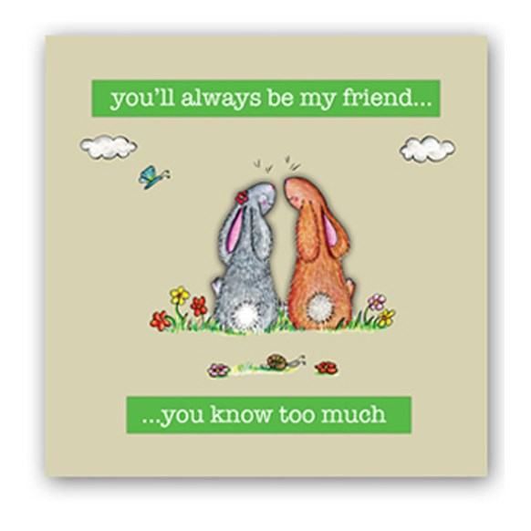 Best Friends Embellishment Card