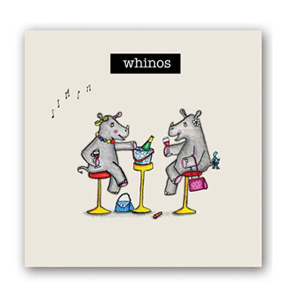 Whinos Embellishment Card