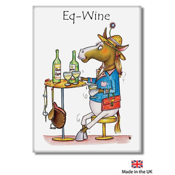 Eq-Wine Fridge Magnet
