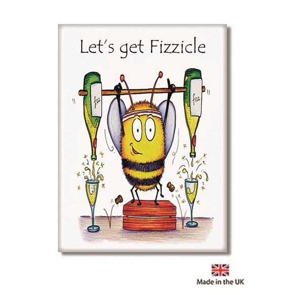 Let's get Fizzicle Fridge Magnet