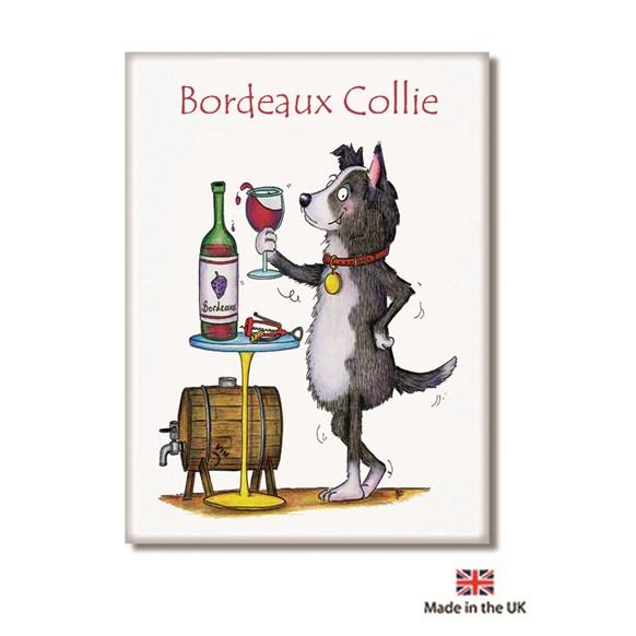 Bordeaux Collie Fridge Magnet