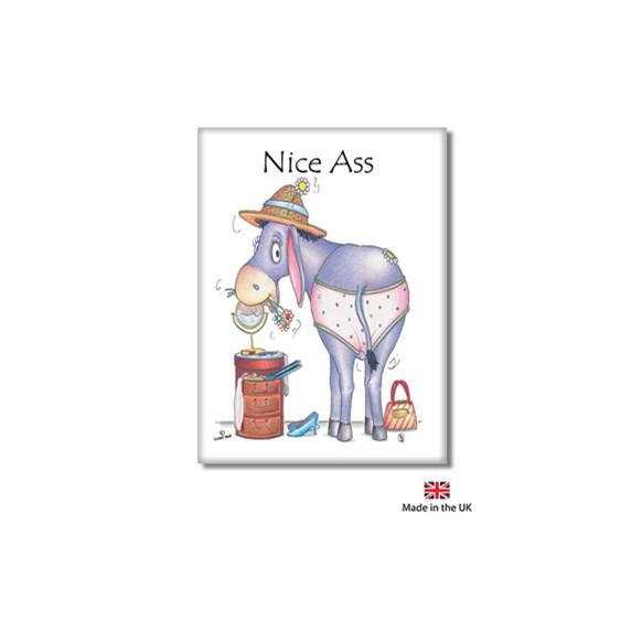 Nice Ass Fridge Magnet