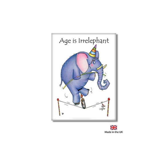Irrelephant Fridge Magnet