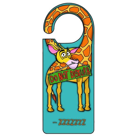 Giraffe Door Hanger
