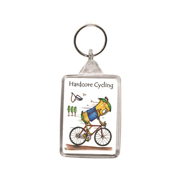 Core Cycle Key Ring