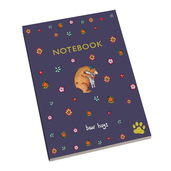 A5 Notebook Bear Hugs