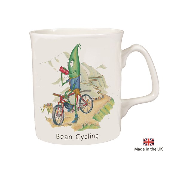 Bean Cycling Mug