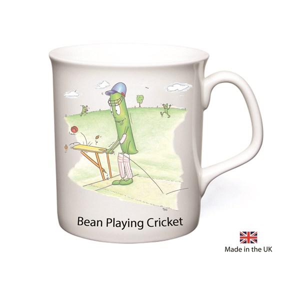 Bean Playing Cricket Mug