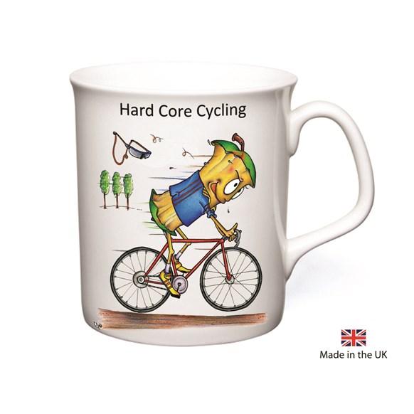 Hard Core Cycling Mug