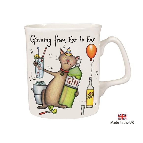 Ginning Ear to Ear Mug