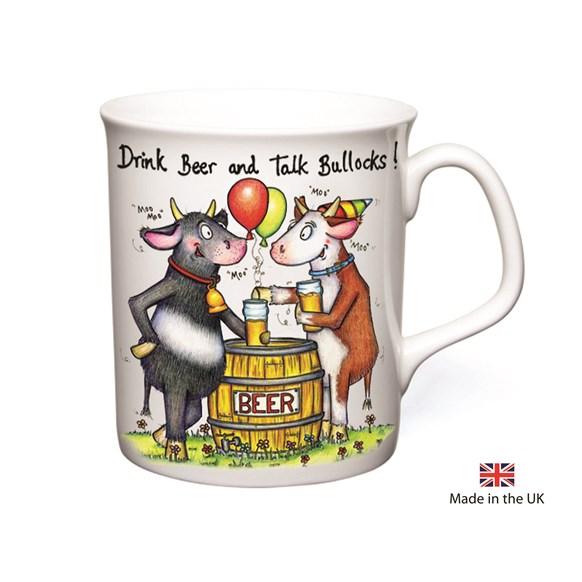Talk Bullocks Mug