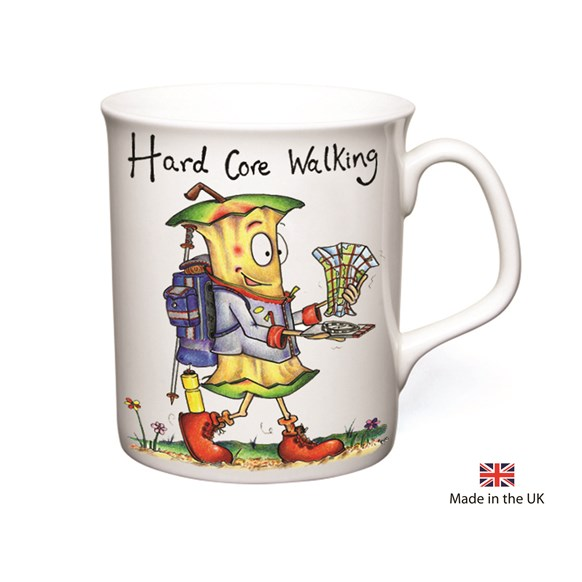Hard Core Walking Mug