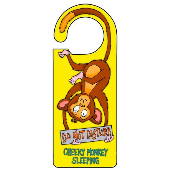 Monkey Door Hanger