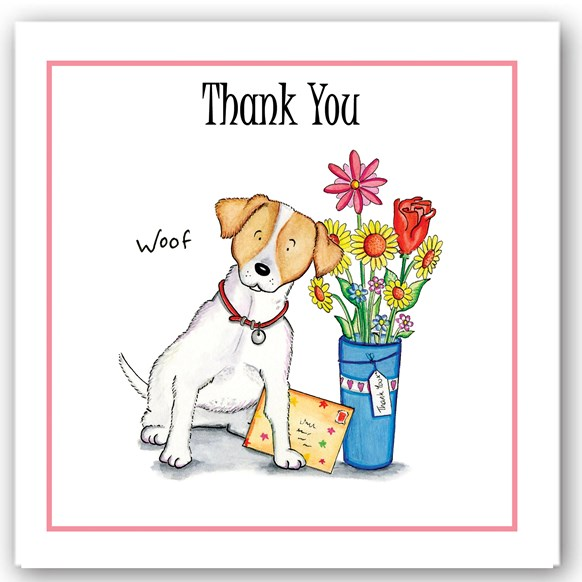 Thank You Dog Occasions Card
