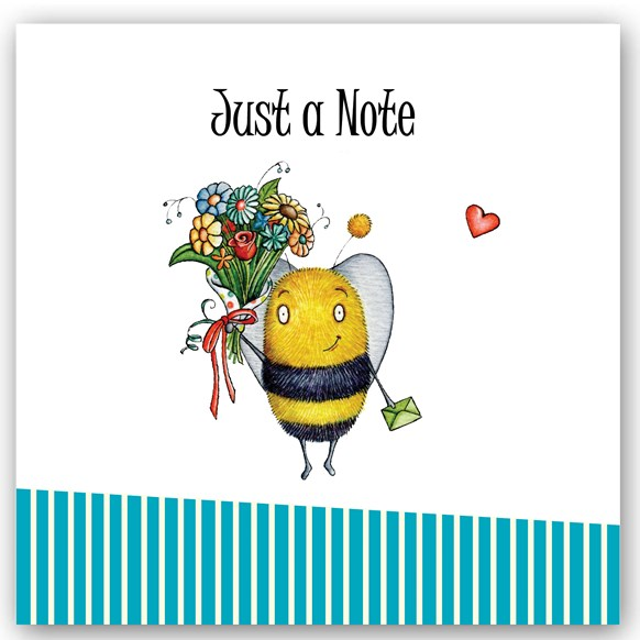 Just a Note Bee Occasions Card