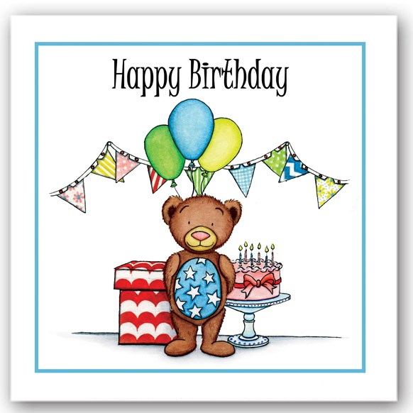 Birthday Bear Occasions Card