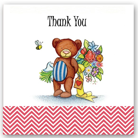 Thank You Bear Occasions Card